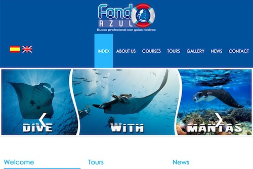 Fondo Azul Dive Center - Technical and commercial accompaniment