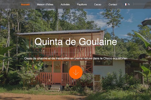 Quinta De Goulaine - Design and complete development of the website